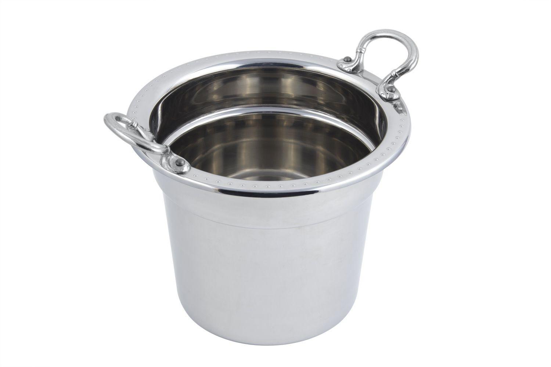 Bon Chef 5311 Bolero Design Soup Tureen with Round Handles, 7 Qt. 1 Pt.