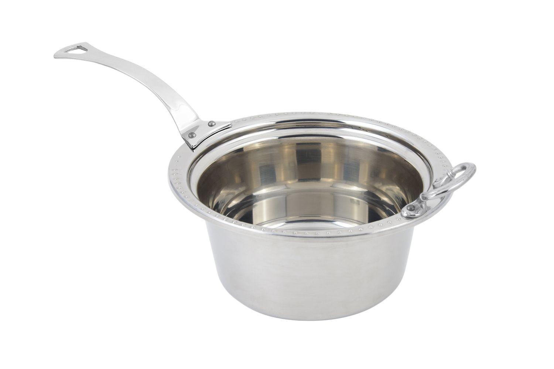Bon Chef 5360HLSS Bolero Design Casserole Dish with Long Handle, 5 Qt.