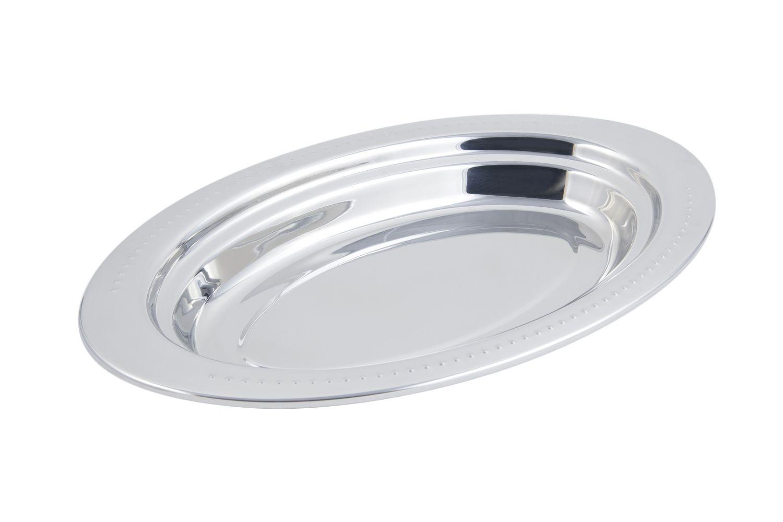 Bon Chef 5388 Bolero Design Oval Pan, 2 1/2 Qt.