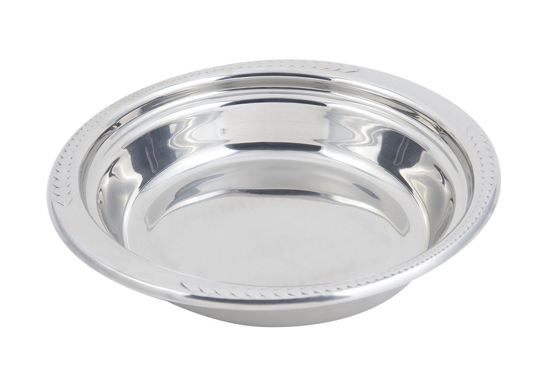 Bon Chef 5455 Laurel Design Casserole Dish, 2 1/2 Qt.