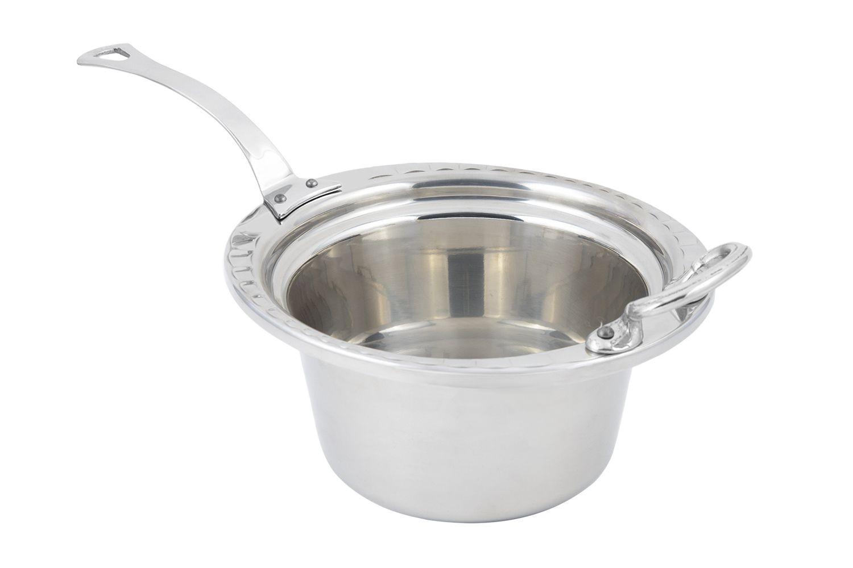 Bon Chef 5650HLSS Arches Design Casserole Dish with Long Handle, 2 Qt.