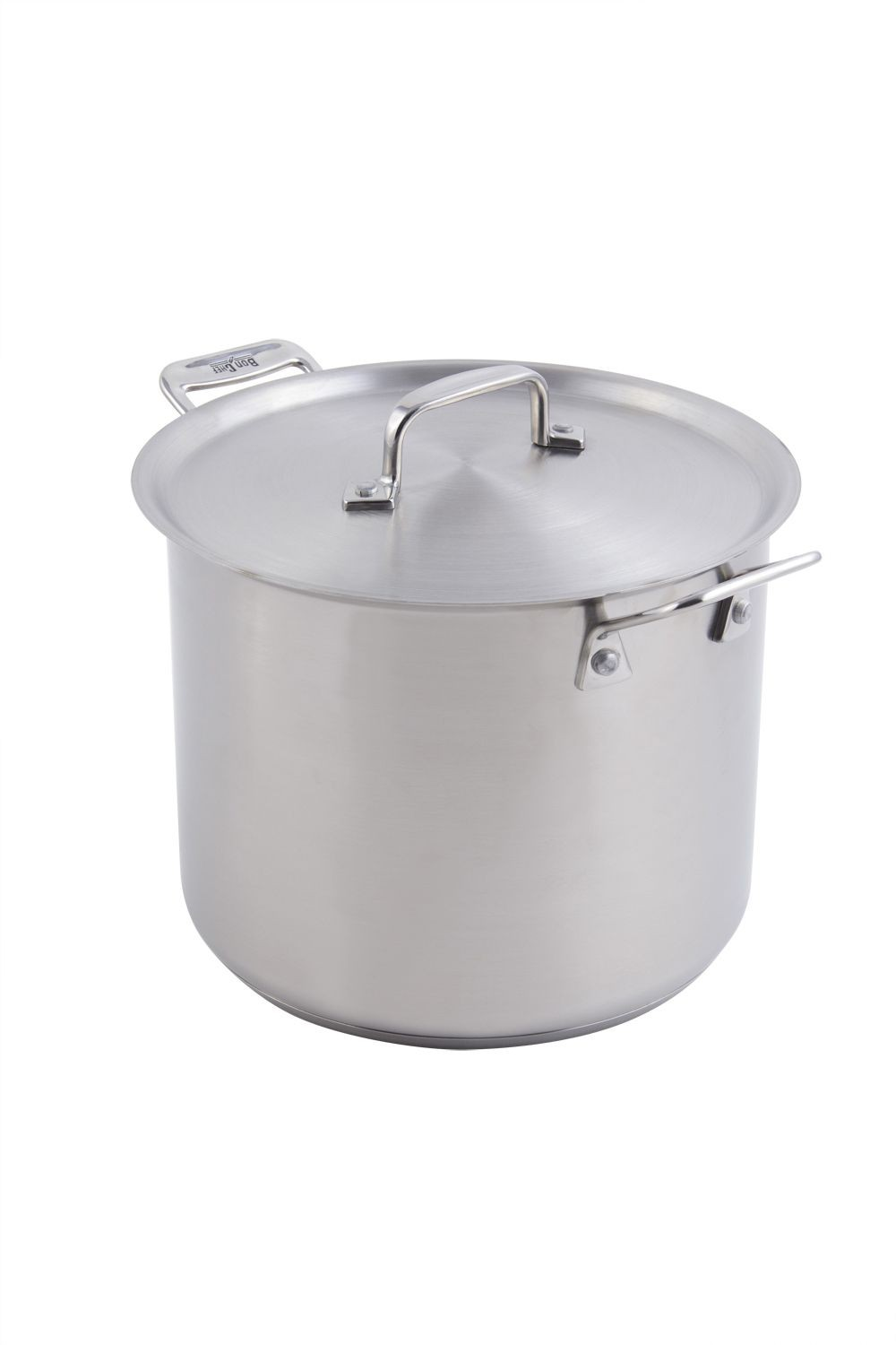 Bon Chef 60003 Cucina Stainless Steel Stock Pot with Lid, 7 Qt.