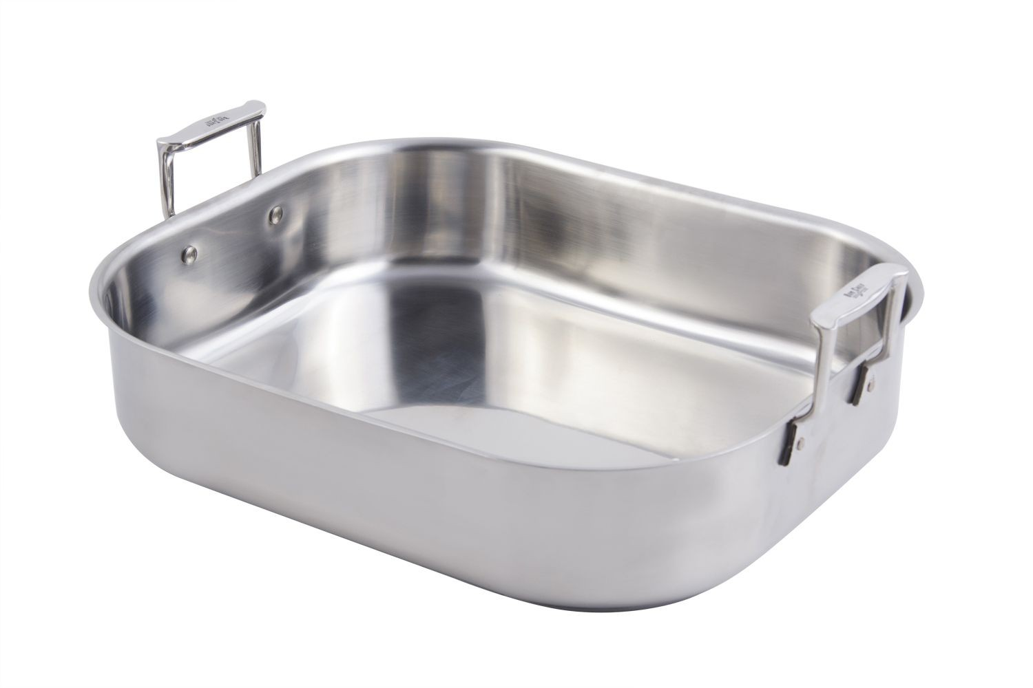Bon Chef 60010CLD Cucina Stainless Steel Rotisserie Pan, 10 Qt.