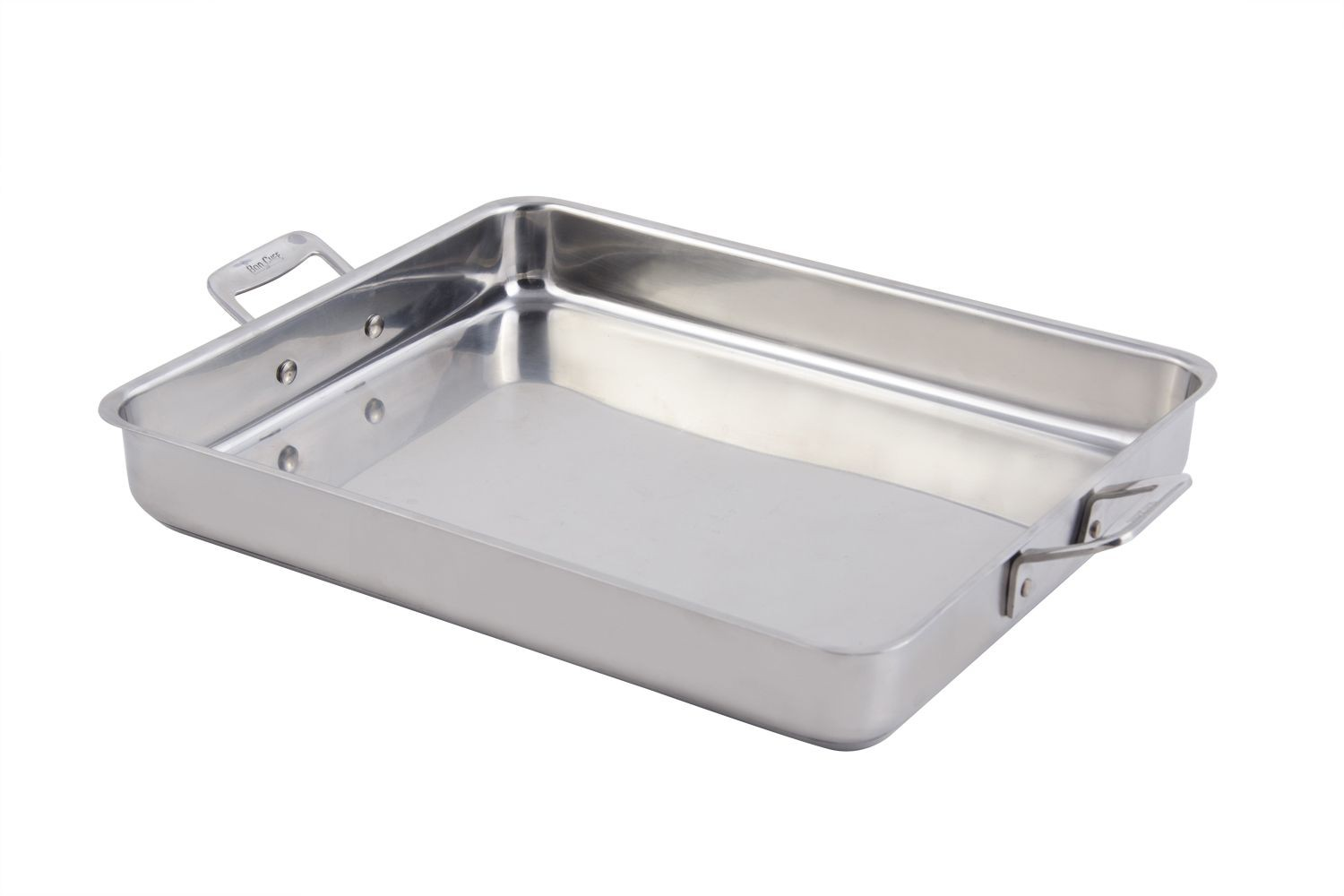 Bon Chef 60012CLD Cucina Large Stainless Steel Square Pan, 5 Qt.