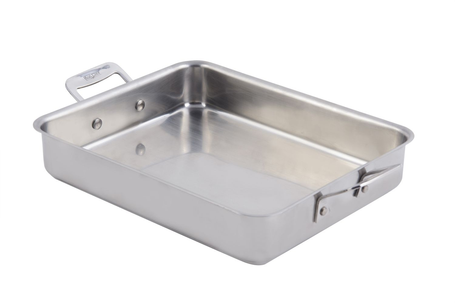 Bon Chef 60013CLD Cucina Stainless Steel Small Square Pan, 3 Qt.