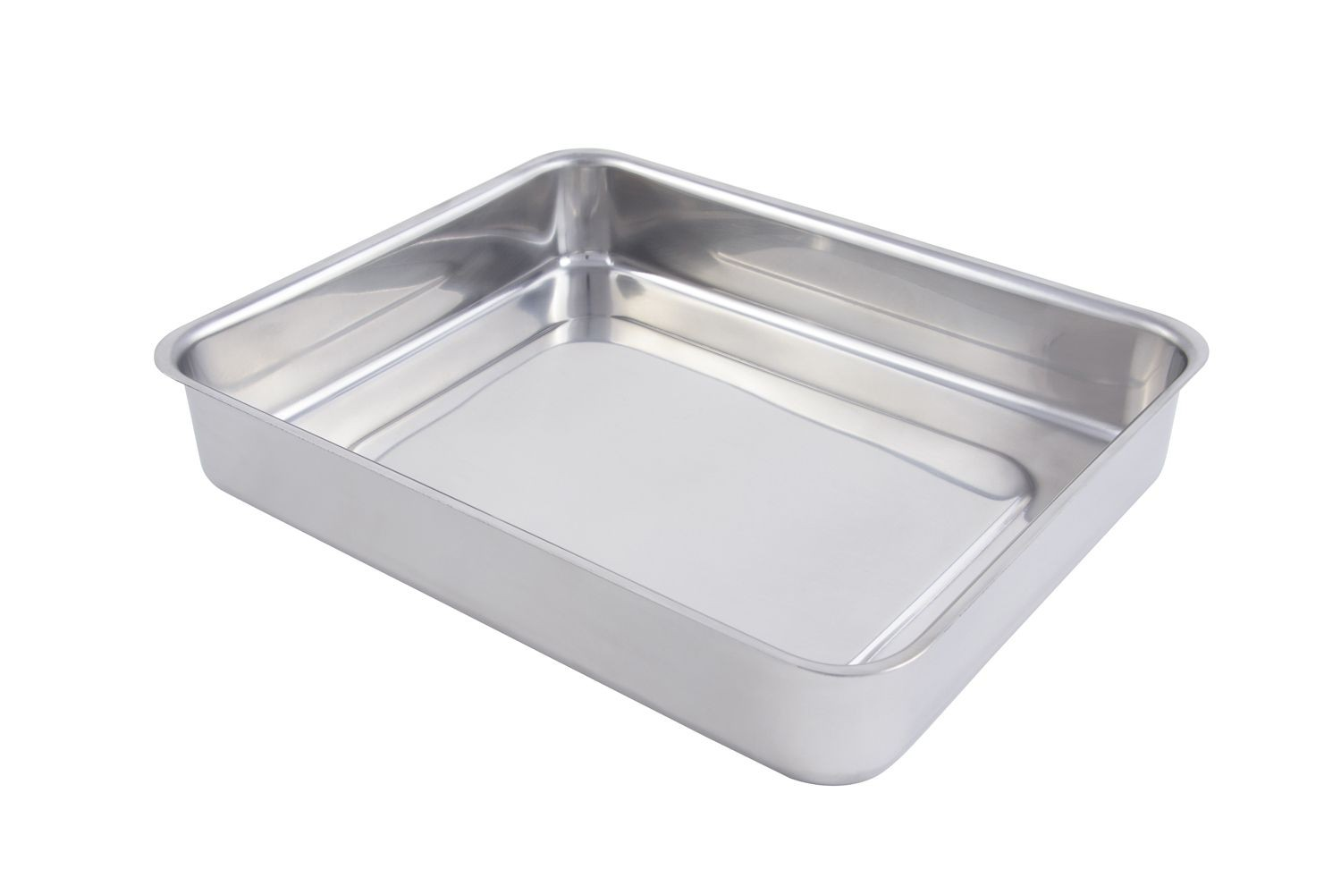 Bon Chef 60016 Cucina Small Stainless Steel Food Pan, 3 Qt.