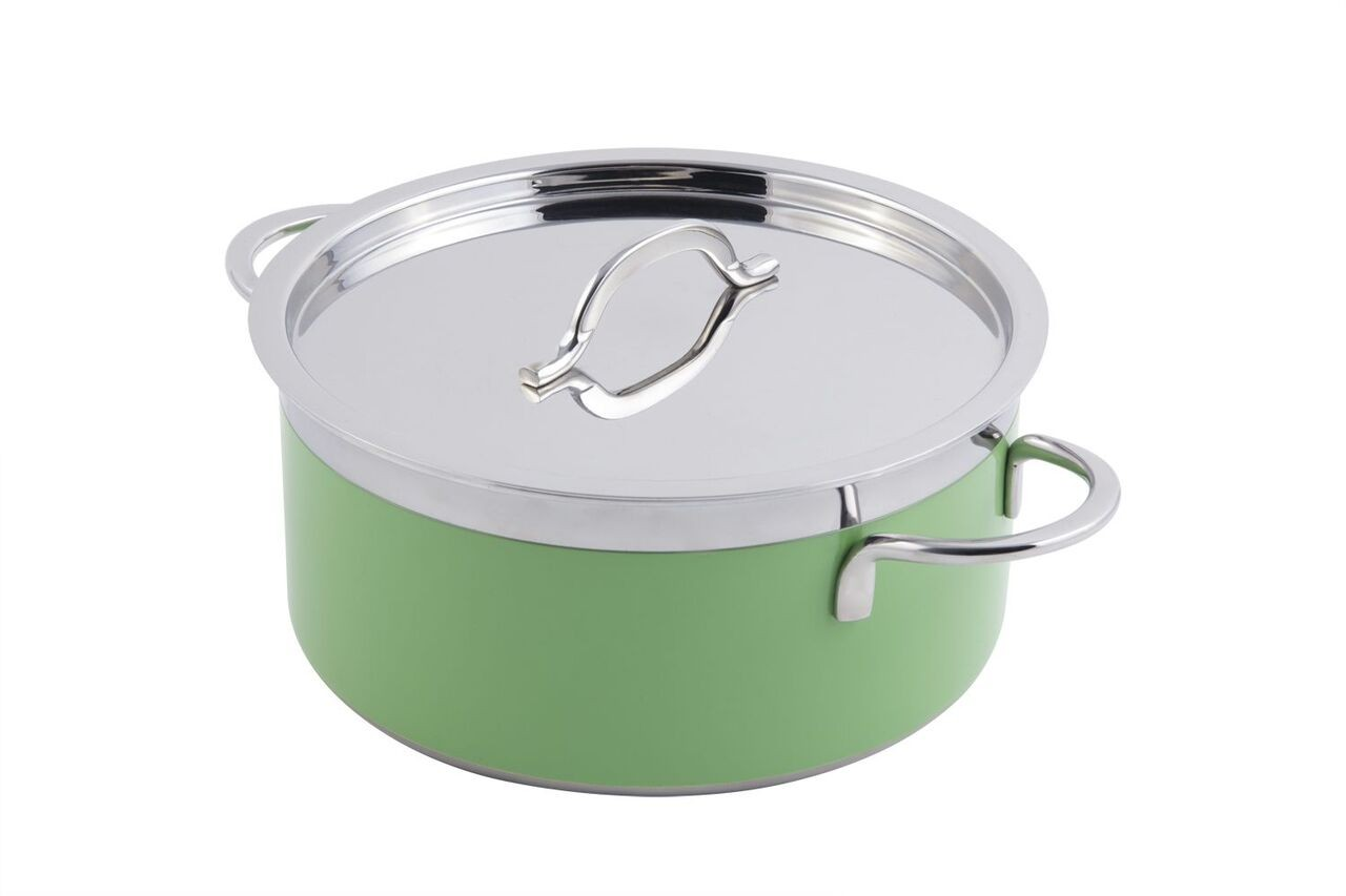 Bon Chef 60303 Classic Country French Collection Pot with Cover, 5 Qt. 22 oz.
