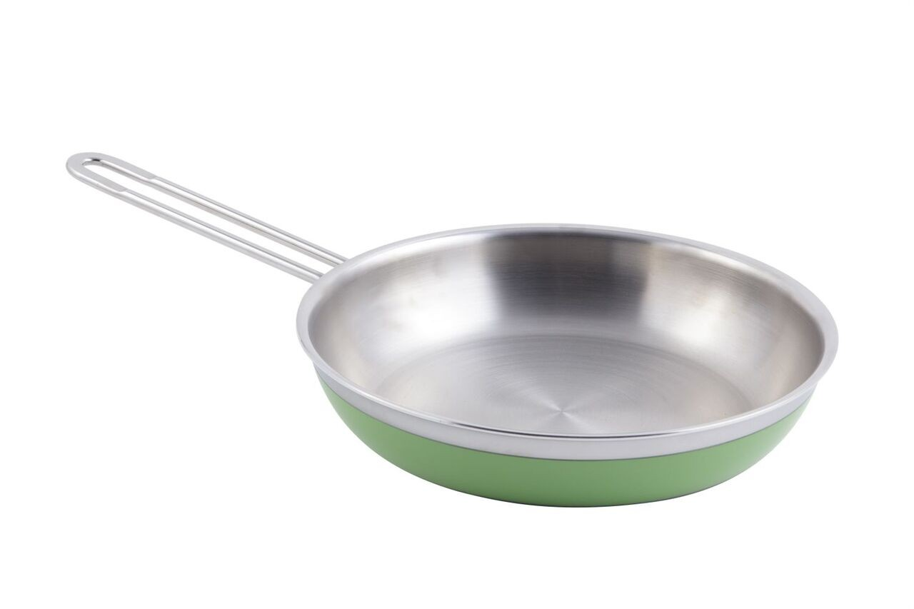 Bon Chef 60308 Classic Country French Collection Saute Pan with Long Handle, 2 Qt. 12 oz.