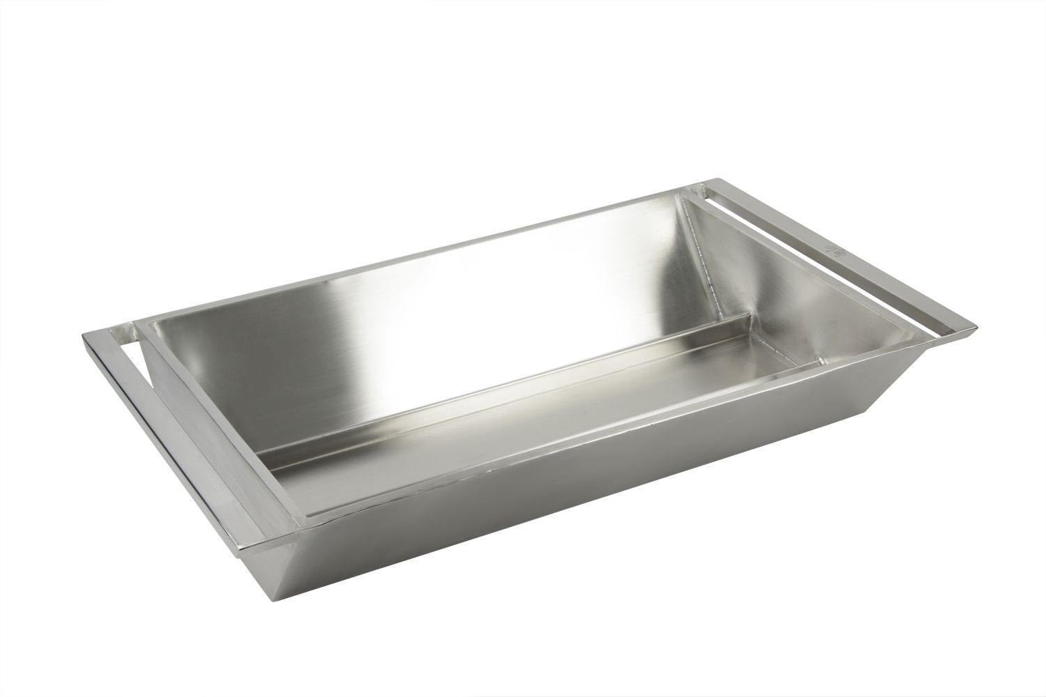 "Bon Chef 61284 Stainless Steel Rectangular Double-Walled Beverage Tub, 34 7/8"" x 19 3/4"" x 6 1/4"""