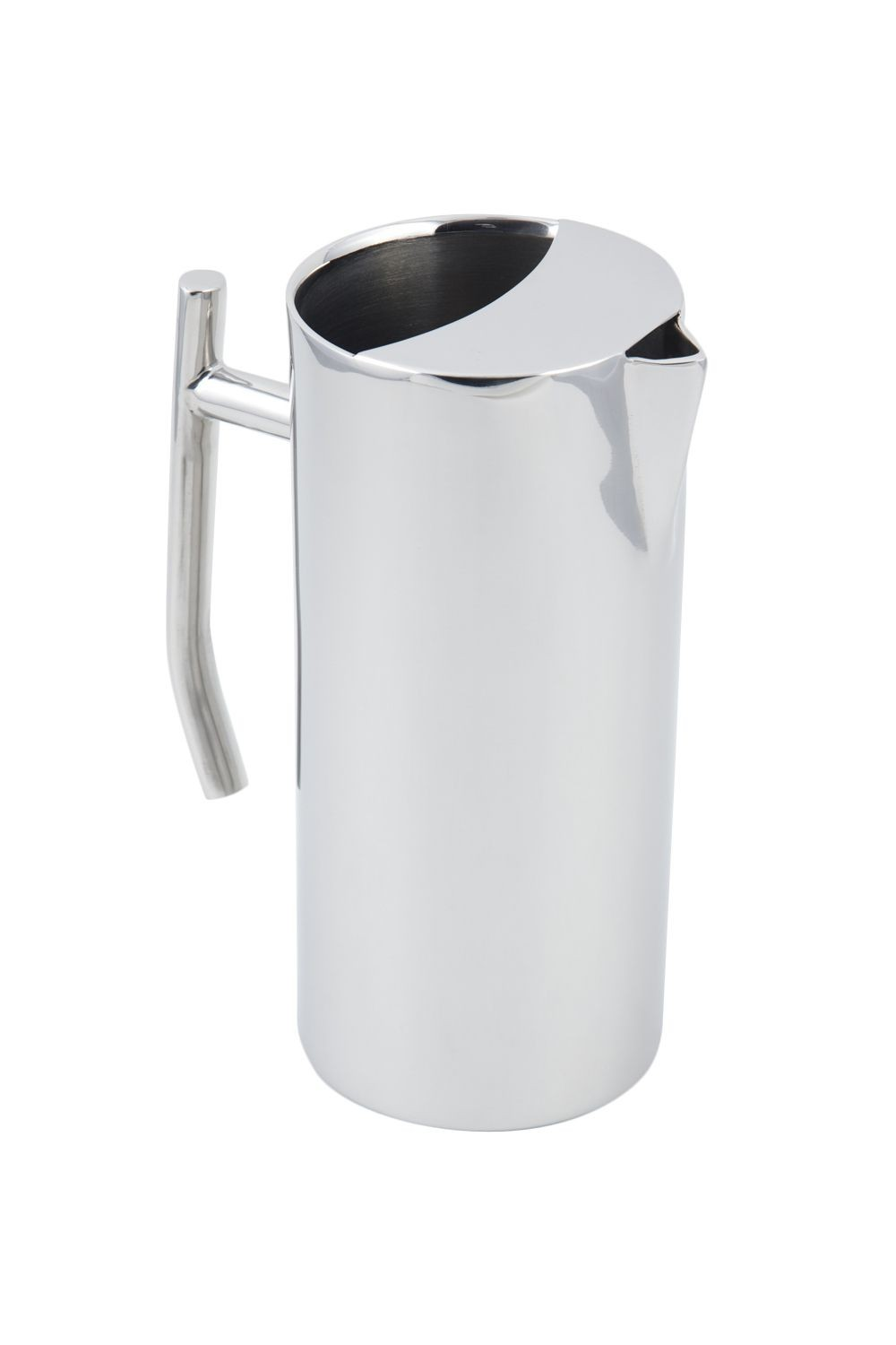 Bon Chef 61314 Empire Collection Stainless Steel Water Pitcher with Ice Guard, 64 oz.