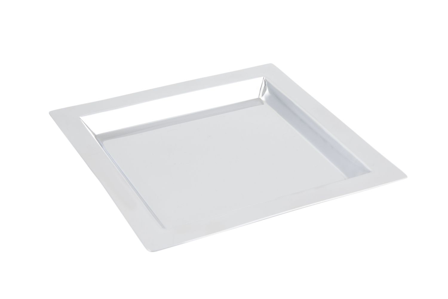 "Bon Chef 61362 Stainless Steel Square Tray, 11"" x 11"""