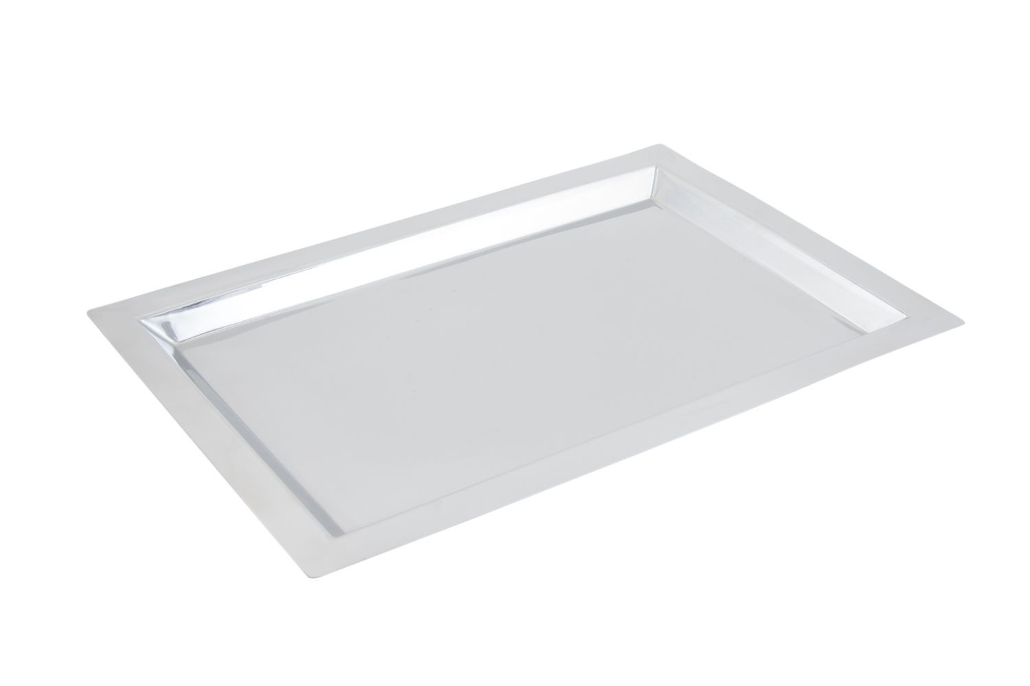 "Bon Chef 61365 Stainless Steel Square Tray, 13 18"" x 18 7/8"""