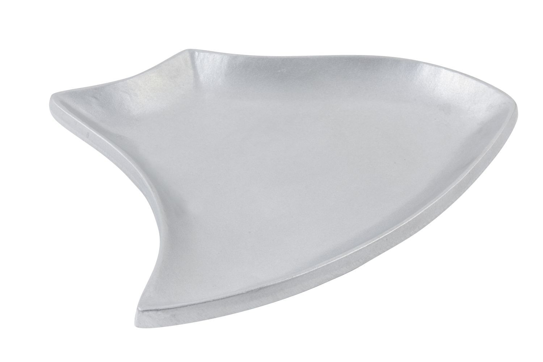"Bon Chef 70002P Futura Platter, Pewter Glo 13 1/2"""