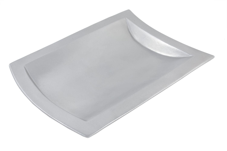 "Bon Chef 70030P Futura Platter, Pewter Glo 15 5/8"" x 21 3/4"""
