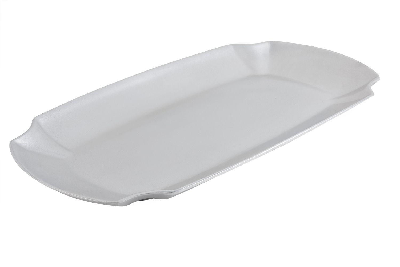 "Bon Chef 70052P Futura Platter, Pewter Glo 13 7/8"" x 26"""