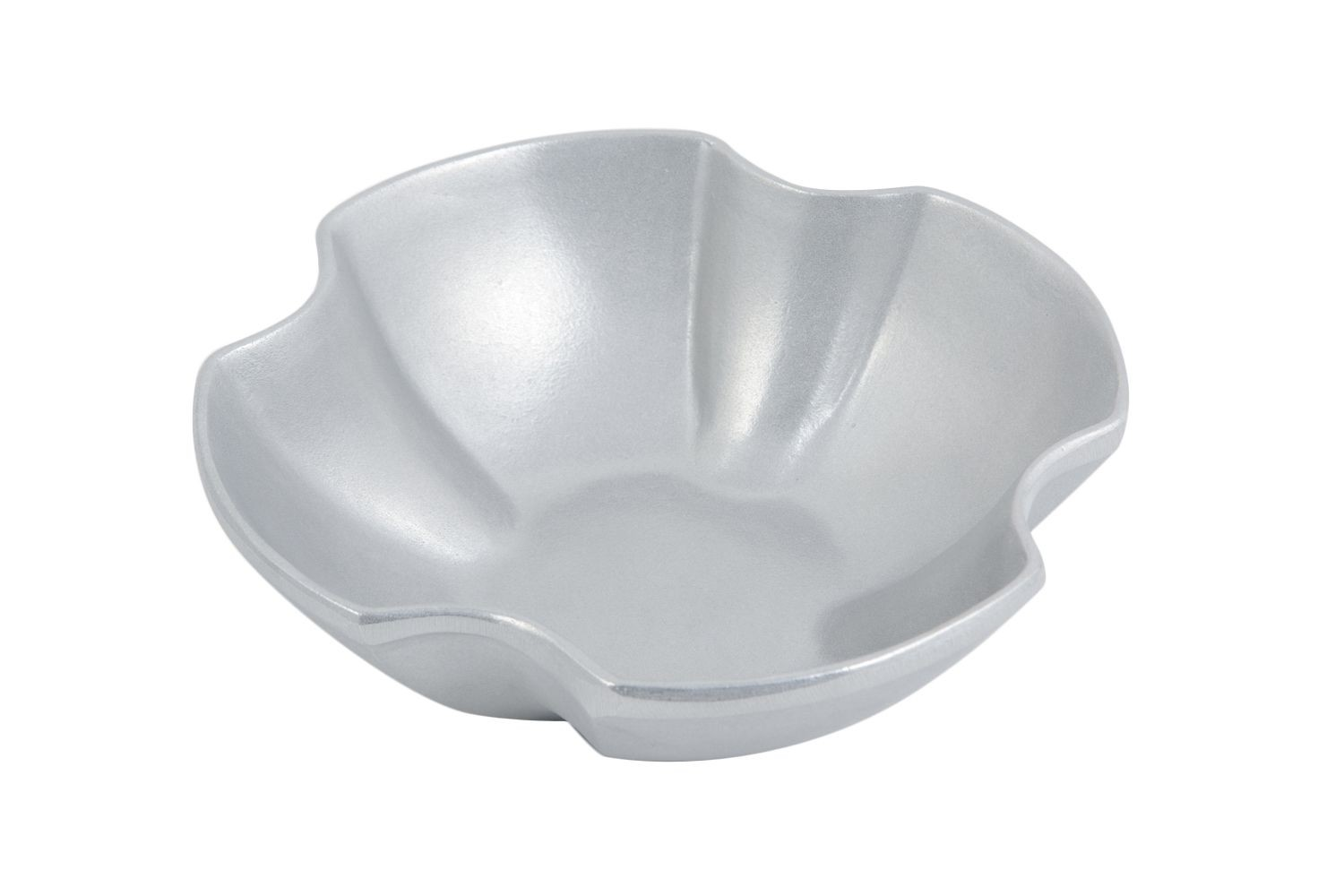 "Bon Chef 70055P Futura Small Bowl, Pewter Glo 9 3/8"" x 9 3/8"" x 3 1/8"", Set of 2"