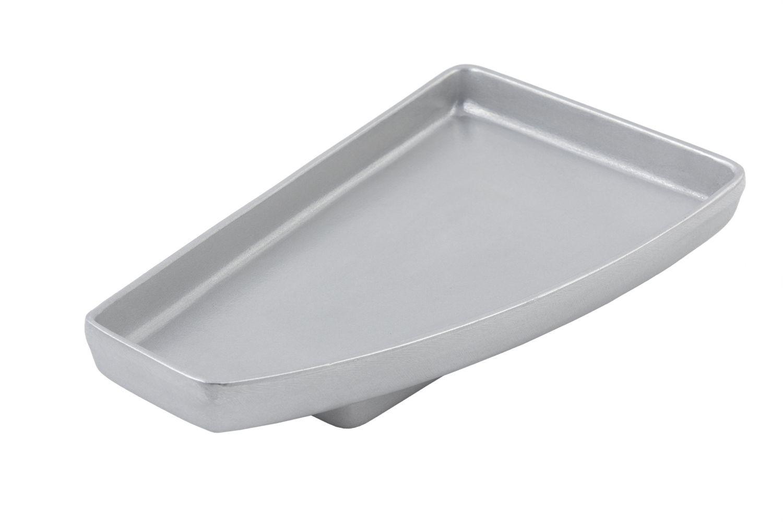 "Bon Chef 70062P Futura2 Serving Platter, Pewter Glo 12"" x 7"" x 1 1/2"""