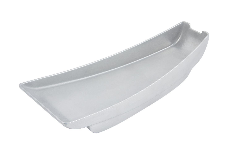 "Bon Chef 70063P Futura2 Gondola Platter, Pewter Glo 20"" x 8"" x 4 1/2"""
