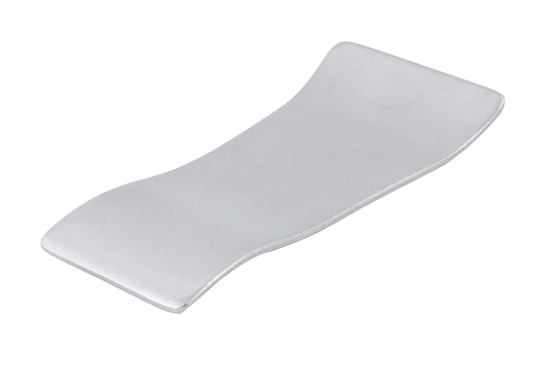"Bon Chef 70067P Futura2 Free Form Platter, Pewter Glo 11 1/2"" x 5 1/2"" x 1 1/"""
