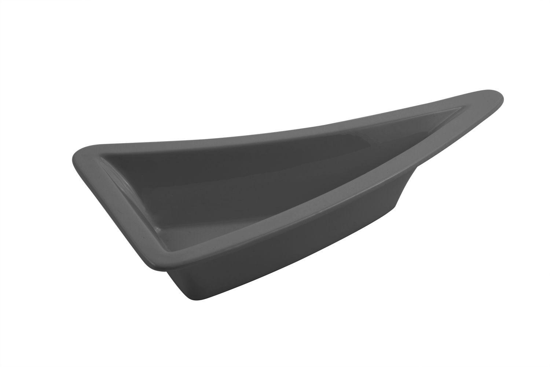 """Bon Chef 70070S Futura2 Triangular Platter, Sandstone 11"""" x 5 1/2"""" x 3"""""""