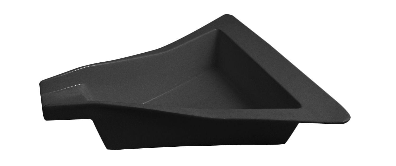 """Bon Chef 70077S Futura2 Triangular Platter, Sandstone 16"""" x 16"""" x 3"""""""