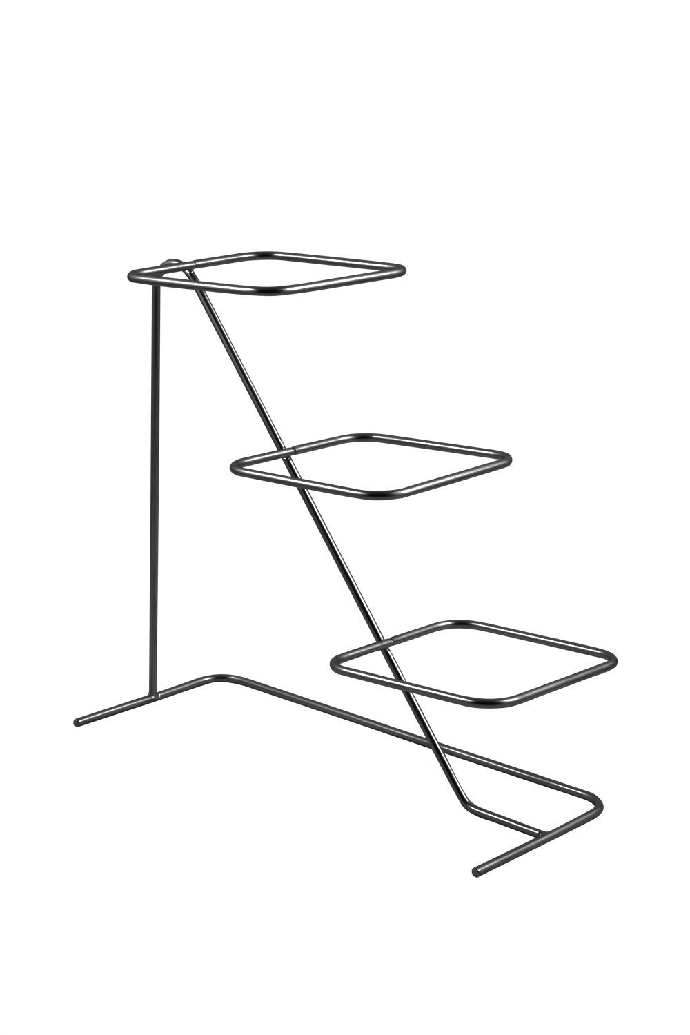 Bon Chef 7011HS High Side Condiment Stand for (3) 9110, Sandstone