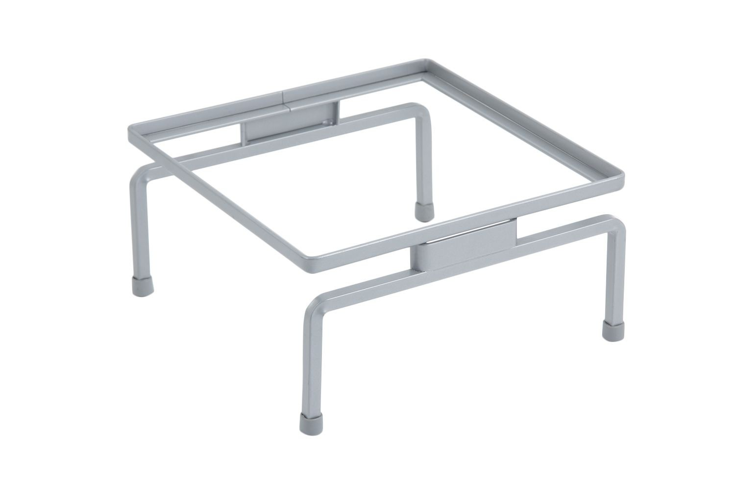 """Bon Chef 7012SS Stainless Steel Stand, 10 1/4"""" x 10 1/4"""" x 5 1/8"""", Set of 6"""