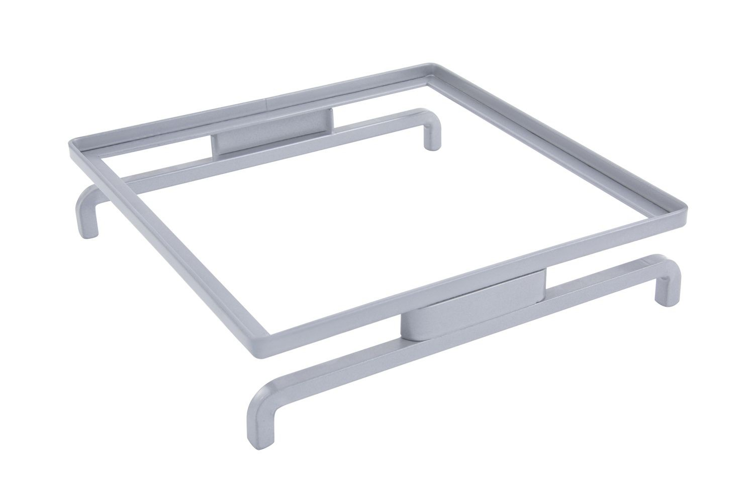"""Bon Chef 7013SS Stainless Steel Stand, 10 1/4"""" x 10 1/4"""" x 2 5/"""", Set of 6"""