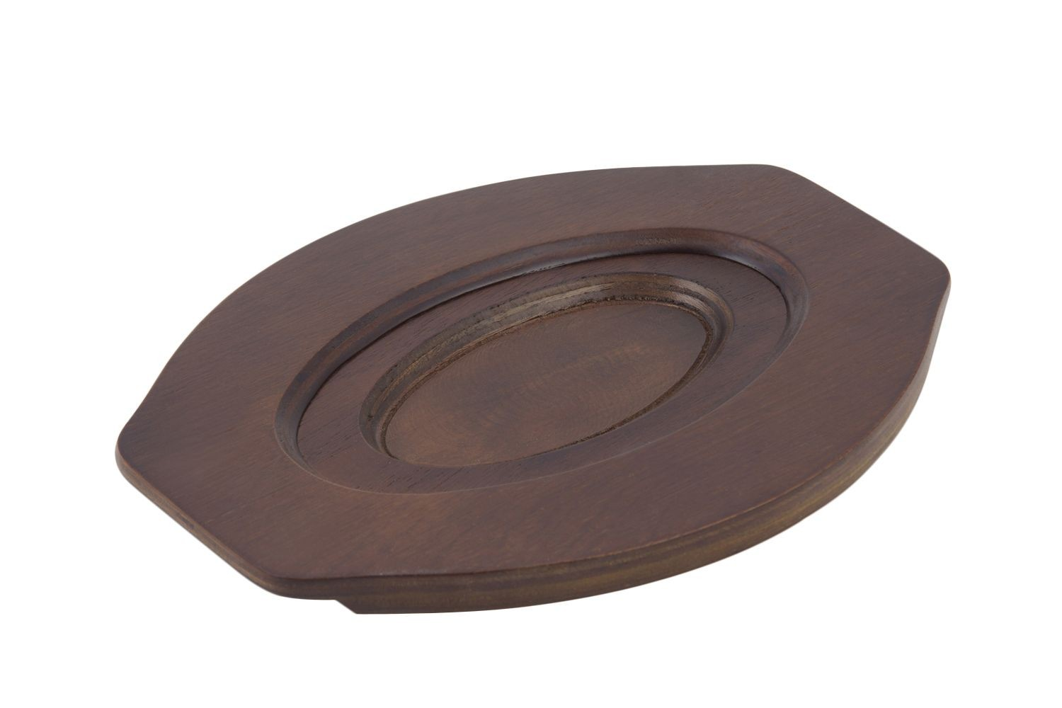 """Bon Chef 8013 Wood Underliner for Sizzle Plate, 9 3/4"""" x 13 1/2"""", Set of 12"""