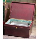 "Bon Chef 812040W Wooden Chafer Box, 30"" x 18"" x 15"""
