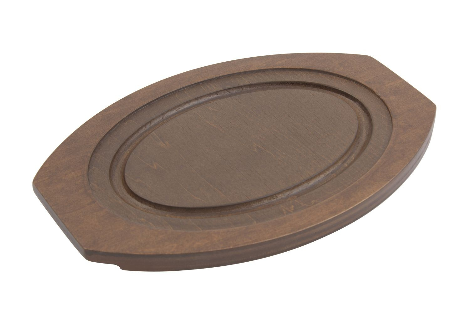 "Bon Chef 82060 Wood Underliner for Sizzle Plate, 11"" x 12 3/4"" x 1 1/2"", Set of 12"