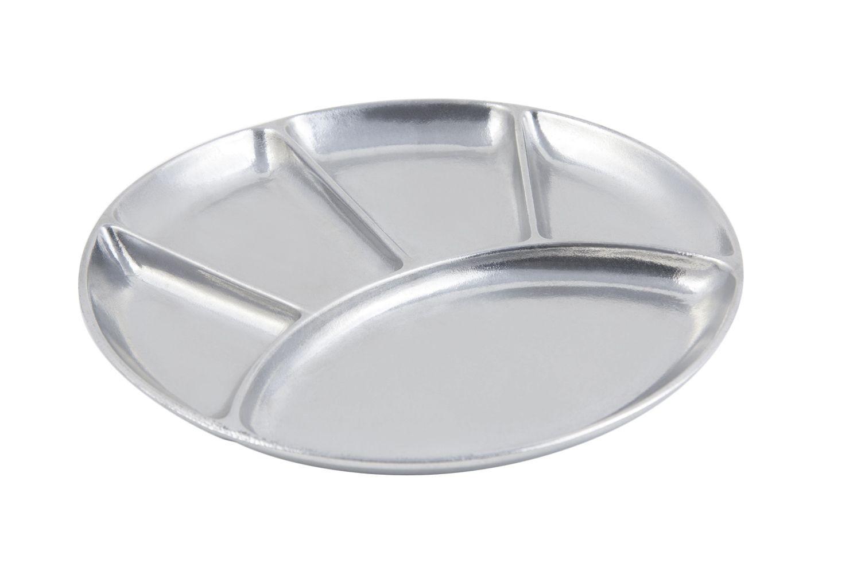 "Bon Chef 9011P Fondue/Relish Dish, Pewter Glo 9"" Dia., Set of 12"