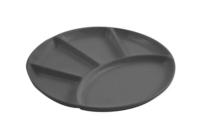 "Bon Chef 9011S Fondue/Relish Dish, Sandstone 9"" Dia., Set of 12"