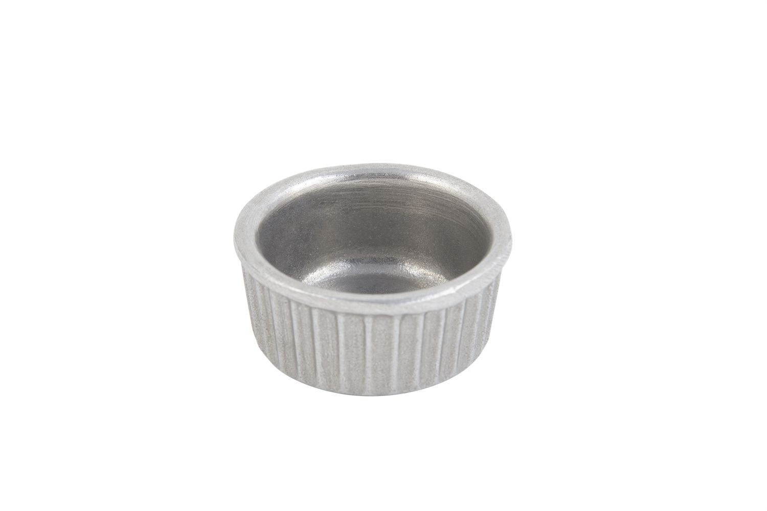 Bon Chef 9024P Fluted Ramekin, Pewter Glo 2 oz., Set of 24