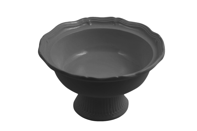 Bon Chef 90629059S Pedestal Salad Bowl, Sandstone 2 Qt.,