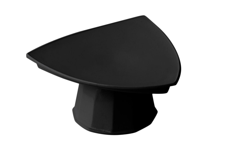 """Bon Chef 90809106S Pedestal Triangle Plate, Sandstone 11 1/2"""""""
