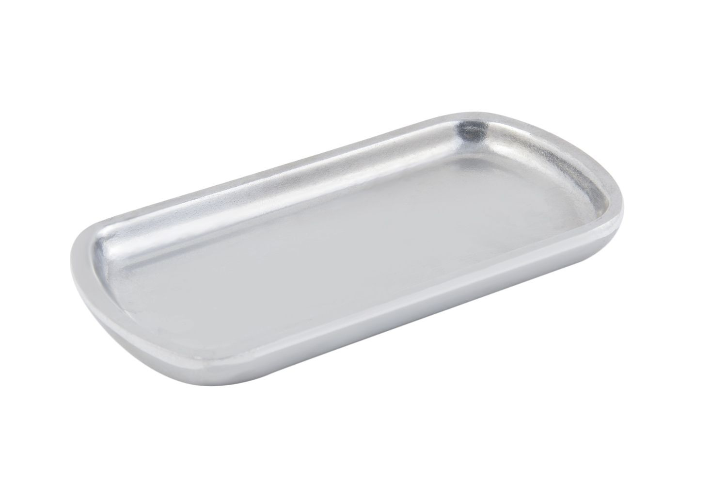"Bon Chef 9083P Sizzle Platter, Pewter Glo 4 1/2"" x 8"" Set of 3"