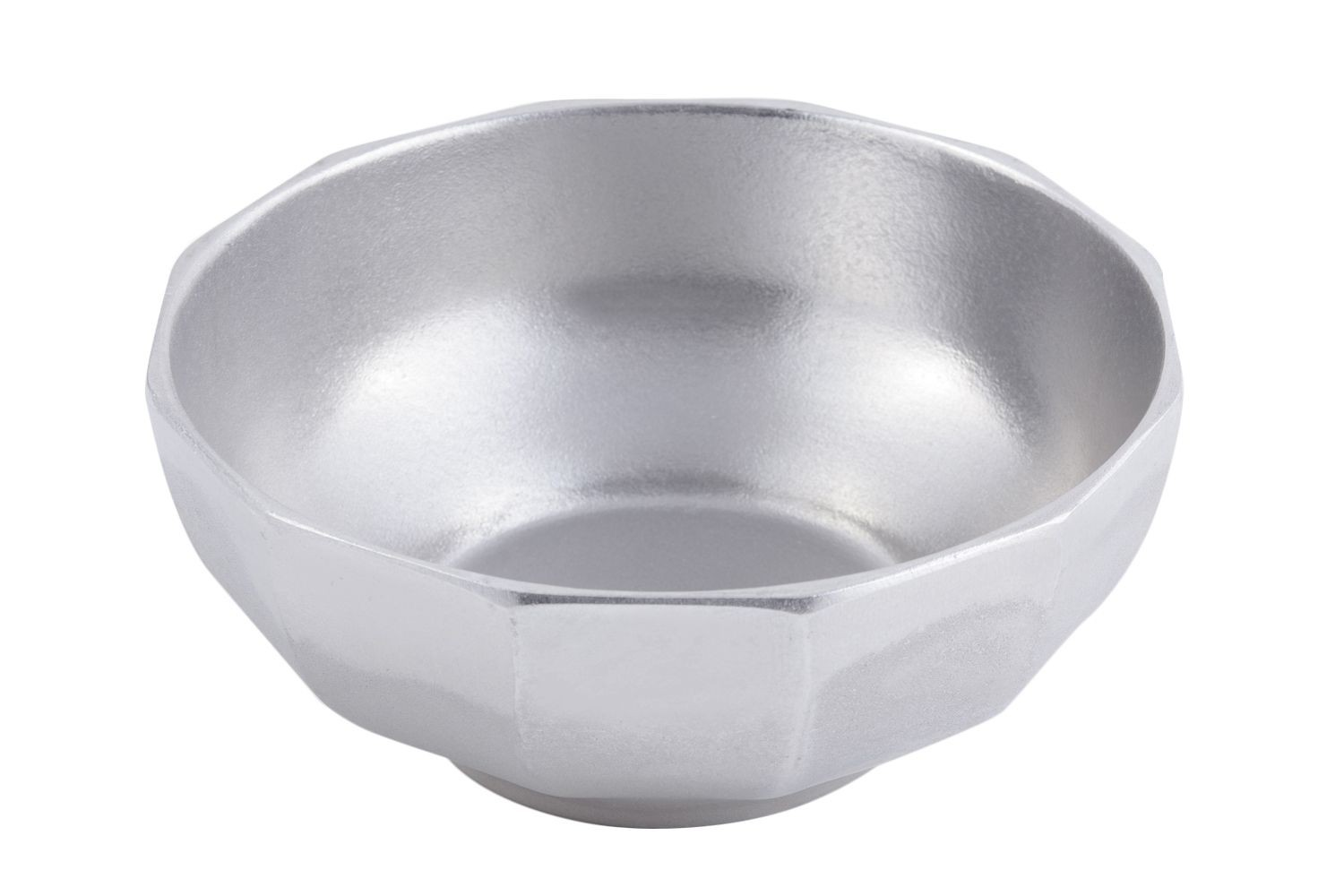 Bon Chef 9091P Prism Serving Bowl, Pewter Glo 4 Qt.