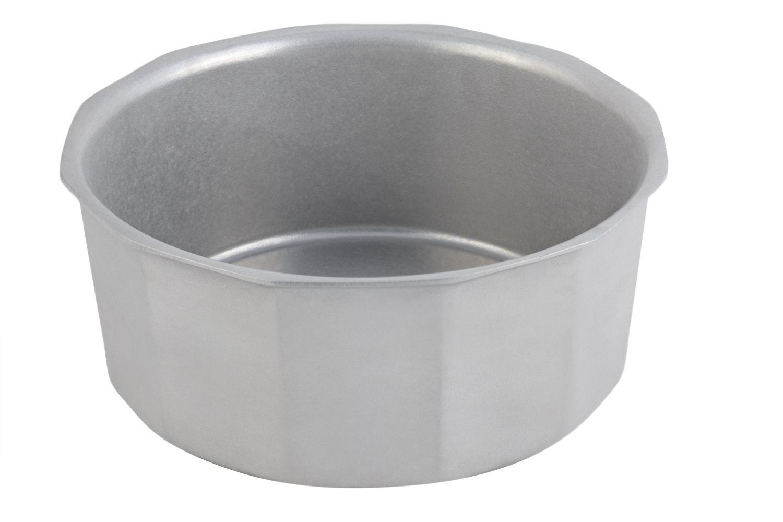 Bon Chef 9096P Flat Bottomed Crock Bowl, Pewter Glo 6 1/2 Qt.