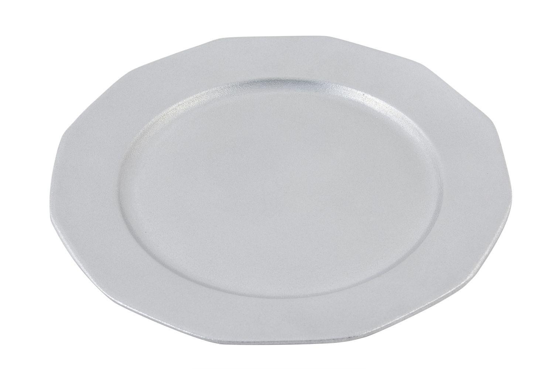 """Bon Chef 9097P Round Prism Tray, Pewter Glo 13"""" Dia."""