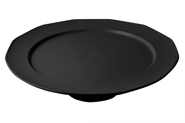 """Bon Chef 90989113S Pedestal Tray, Sandstone 15"""" Dia."""