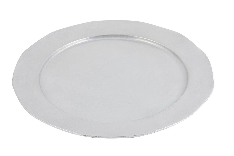 """Bon Chef 9098P Round Prism Tray, Pewter Glo 15"""" Dia."""