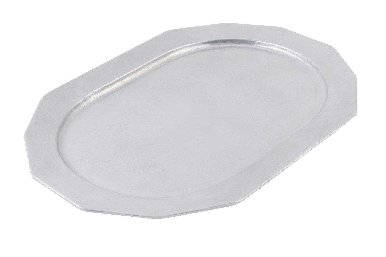 "Bon Chef 9101P Long Prism Tray, Pewter Glo 14"" x 20"""