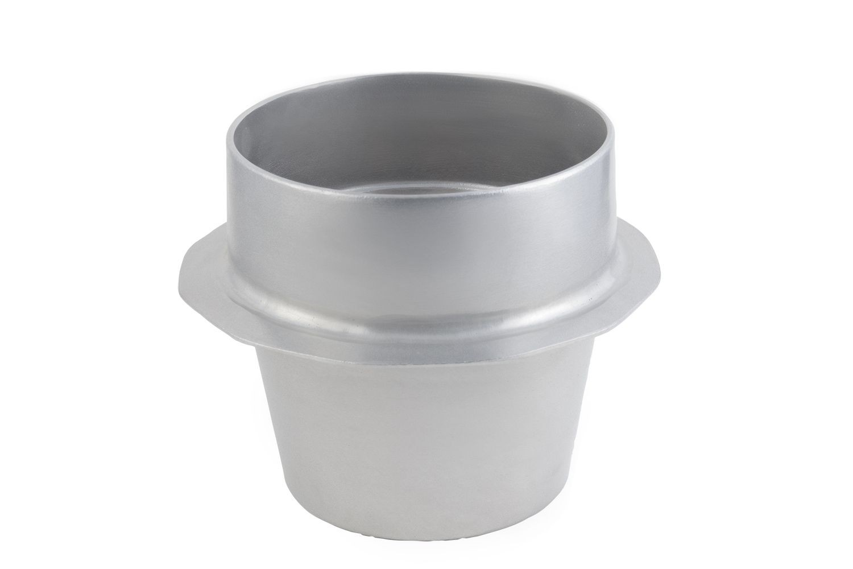 Bon Chef 91439097P Soup Crock with Collar, Pewter Glo 10 Qt.12 oz.