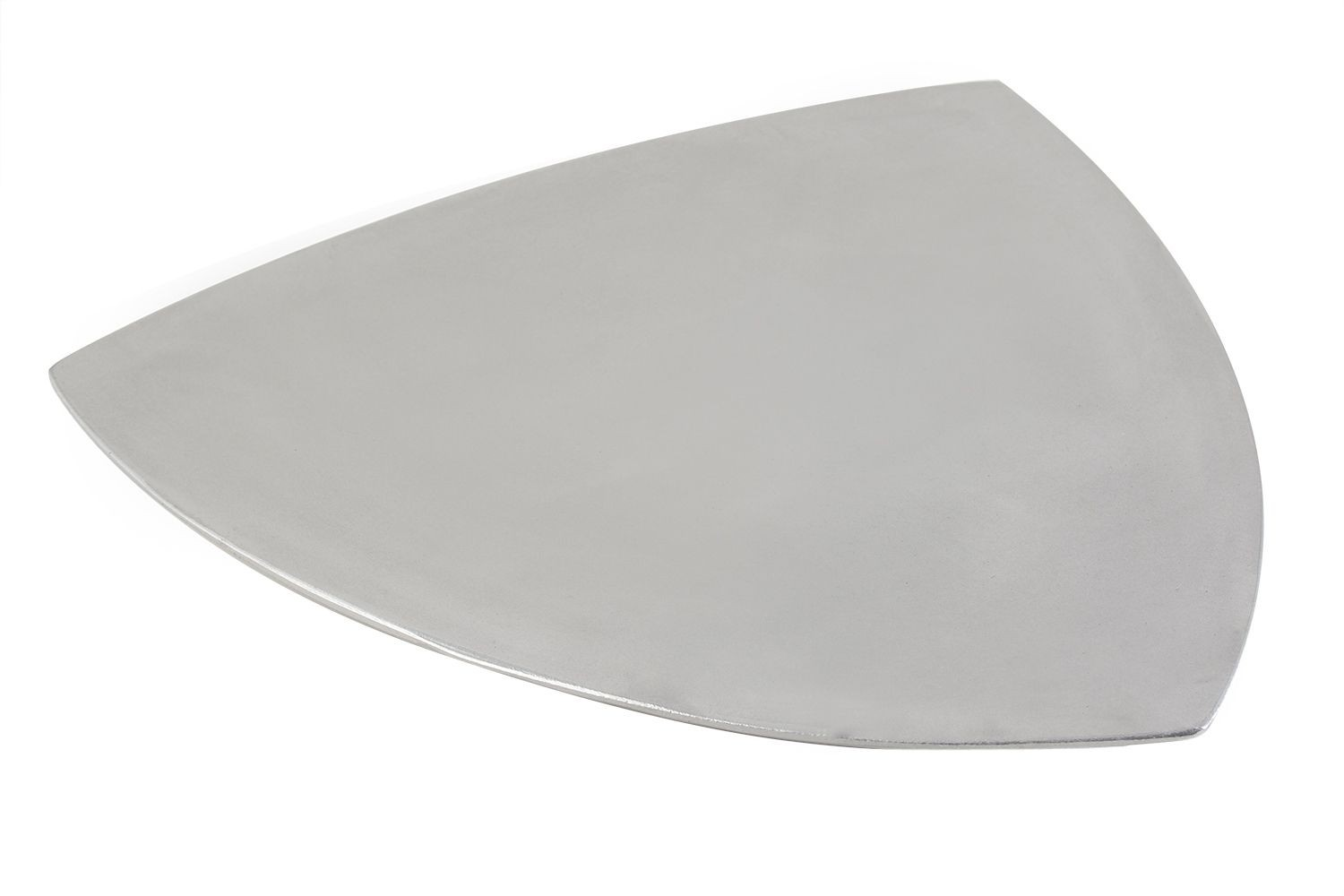 Bon Chef 9160P Triangle Serving Plate, Pewter Glo 20""