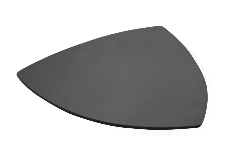 """Bon Chef 9161S Triangle Serving Plate, Sandstone 22"""""""