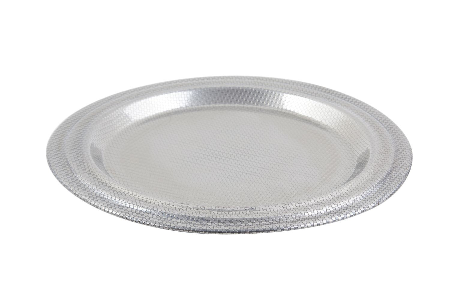 """Bon Chef 9312 Stainless Steel 13-1/2"""" Service Plate"""