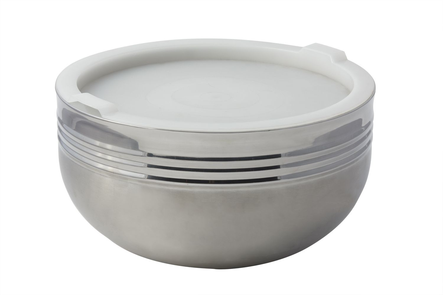 Bon Chef 9316 Cold Wave Triple Wall Bowl with Stacking Cover, 7 Qt.