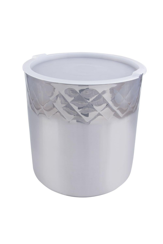 Bon Chef 9321DI Cold Wave Diamond Collection Ice Cream Container with Cover, 3 Gallon