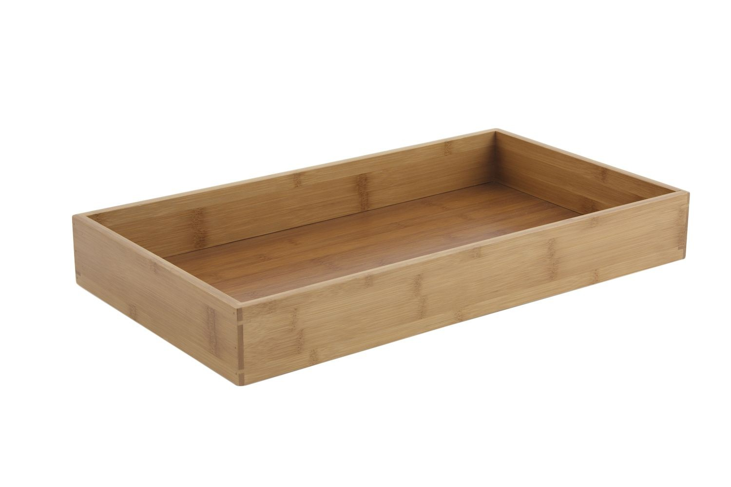 "Bon Chef 9327 Full Size Bamboo Holder for Cold Wave Platter. 20 3/8"" x 11 5/8"" x 2 3/4"", Set of 4"